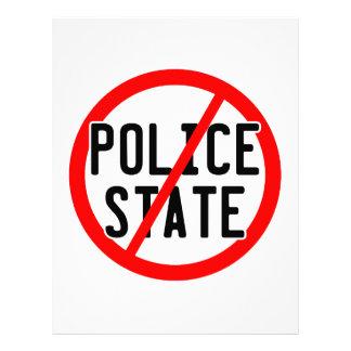 NINGÚN ESTADO POLICIAL - ahora/illuminati/ocupa/ba Plantilla De Membrete