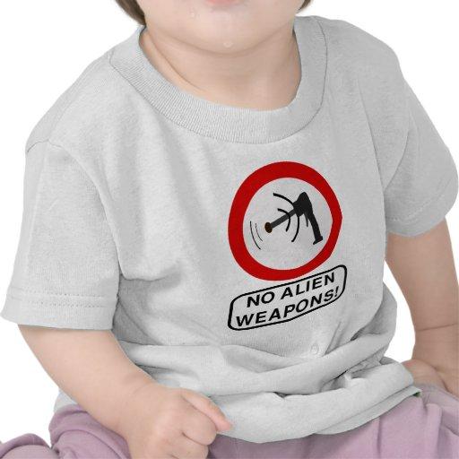Ningún Extraterrestrial extranjero de la ciencia Camiseta