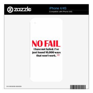 Ningún fall skins para eliPhone 4