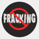 ¡NINGÚN FRACKING! Extremo Fracking Etiquetas