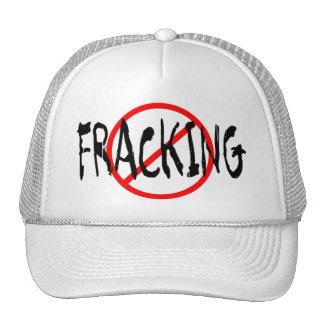 Ningún Fracking Gorros Bordados