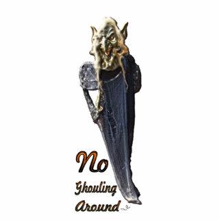Ningún Ghouling alrededor de la escultura de la fo Esculturas Fotograficas
