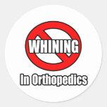 Ningún gimoteo en Orthopedics Etiquetas