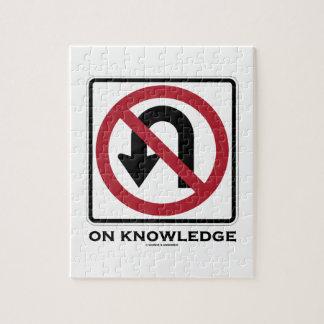 Ningún giro de 180 grados en el conocimiento puzzle