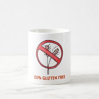¡Ningún gluten/trigo libera! Tazas