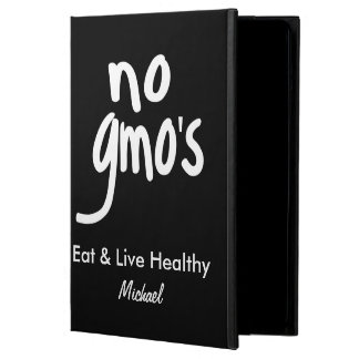 Ningún GMO come el nombre negro sano personalizado