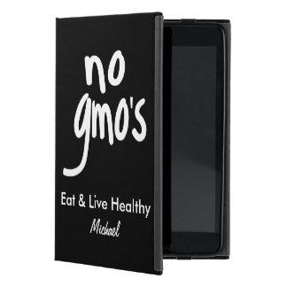 Ningún GMO come el nombre negro sano personalizado iPad Mini Cárcasa