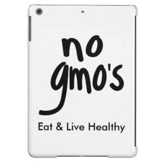 Ningún GMO come la promoción negra blanca sana Carcasa iPad Air