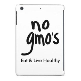 """Ningún GMO come la promoción negra blanca sana Funda Para iPad Mini Retina"