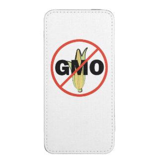 Ningún GMO - en blanco Bolsillo Para iPhone