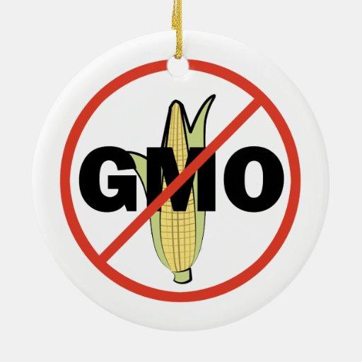 Ningún GMO - en blanco Adorno Para Reyes