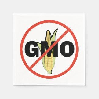 Ningún GMO - en blanco Servilleta De Papel