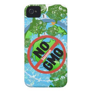NINGÚN GMO Case-Mate iPhone 4 PROTECTORES