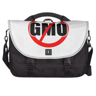 NINGÚN GMO - orgánico/mansanto/activismo/protesta/ Bolsas Para Portátil