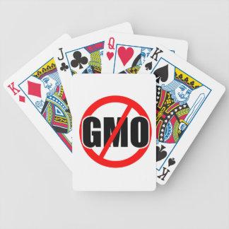 NINGÚN GMO - orgánico/mansanto/activismo/protesta/ Baraja De Cartas