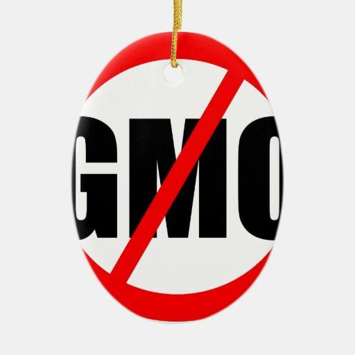 NINGÚN GMO - orgánico/mansanto/activismo/protesta/ Adornos