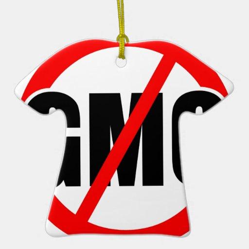 NINGÚN GMO - orgánico/mansanto/activismo/protesta/ Ornamentos De Reyes