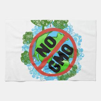 NINGÚN GMO TOALLA DE MANO