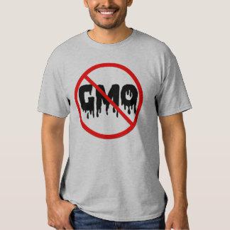 Ningún GMO Remeras
