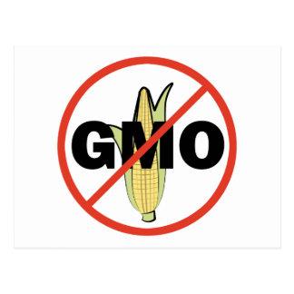 Ningún GMO Tarjetas Postales