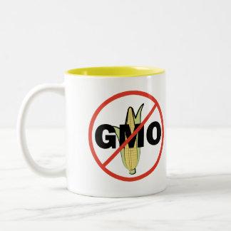 Ningún GMO Taza De Dos Tonos