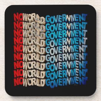 Ningún gobierno del mundo posavasos de bebida