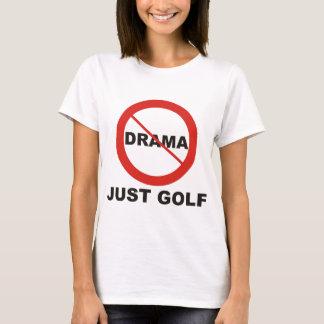 Ningún golf del drama apenas playera