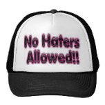 Ningún gorra de Alloowed de los enemigos