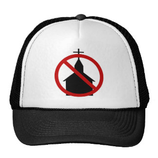 Ningún gorra de la iglesia