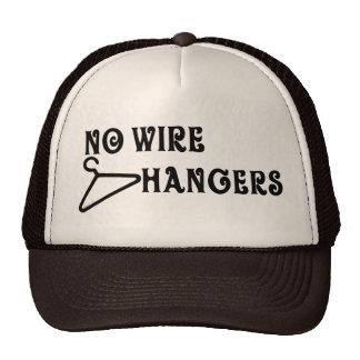 Ningún gorra de las suspensiones del alambre