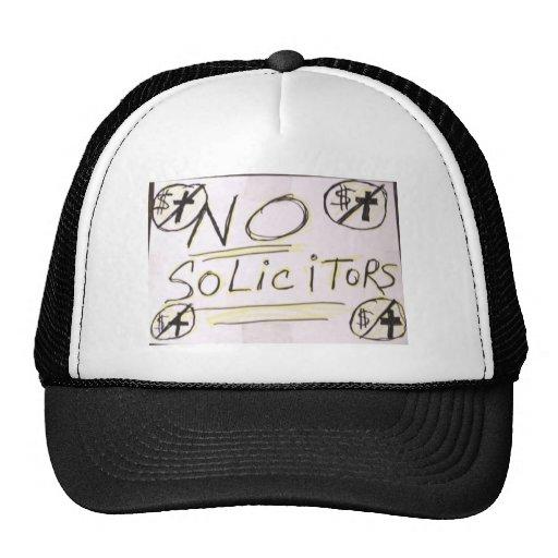 Ningún gorra del camionero de los abogados
