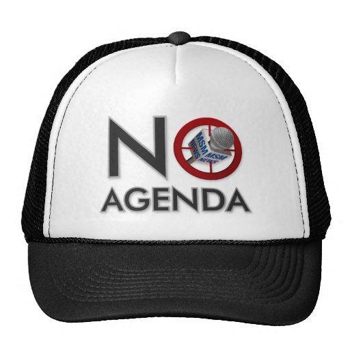 Ningún gorra del logotipo del orden del día