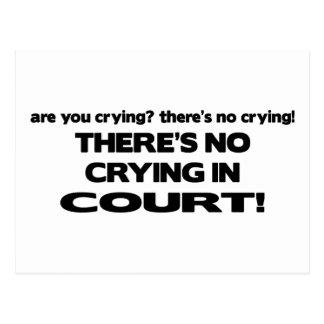 Ningún griterío ante el tribunal tarjetas postales