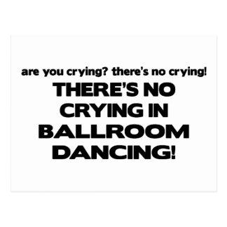 Ningún griterío - baile de salón de baile tarjetas postales