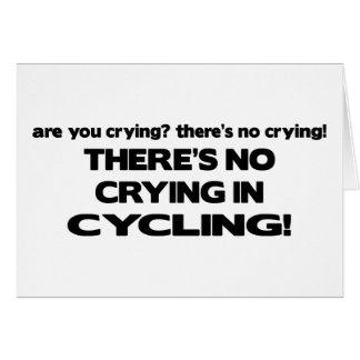 Ningún griterío - completando un ciclo tarjeton