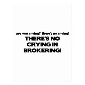 Ningún griterío en Brokering Postal