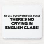 Ningún griterío en clase de inglés tapete de raton