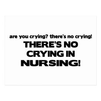 Ningún griterío en el oficio de enfermera postal