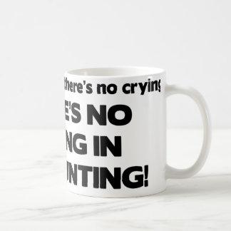 Ningún griterío en la contabilidad taza