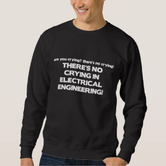 Ningún griterío en la ingeniería eléctrica sudaderas encapuchadas