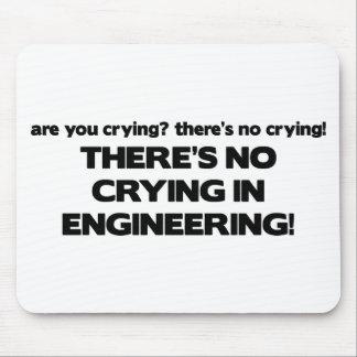 Ningún griterío en la ingeniería mousepads