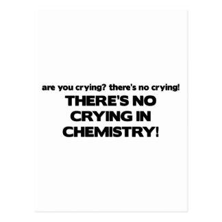 Ningún griterío en química postal