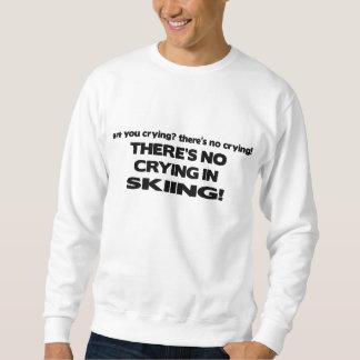 Ningún griterío - esquí pulover sudadera