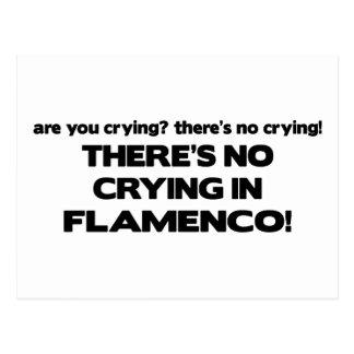 Ningún griterío - flamenco postales