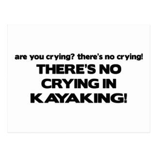 Ningún griterío - Kayaking Postal
