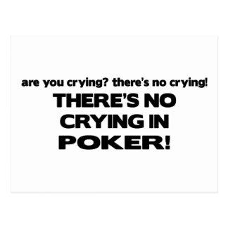 Ningún griterío - póker postales
