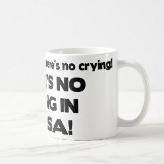 Ningún griterío - salsa tazas de café