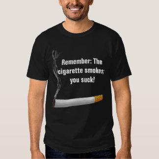 Ningún humo camisas