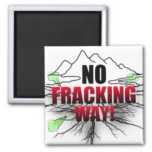 Ningún imán de Fracking