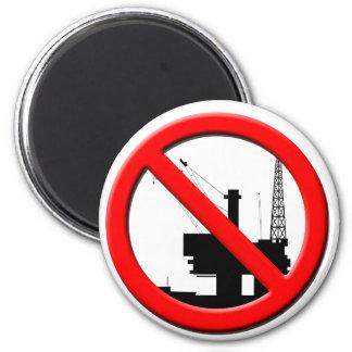 Ningún imán de la perforación petrolífera en el ma